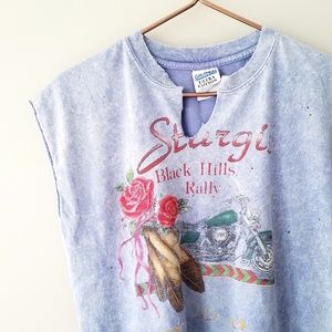VTG Sturgis | Black Hills Rally Acid Wash Tee